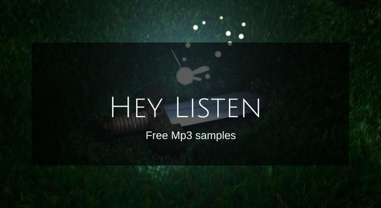 Download hey Listen Zelda Samples