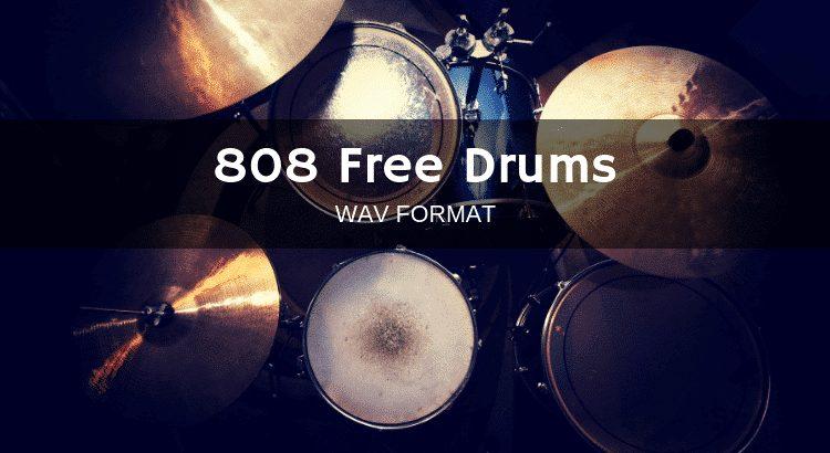 808 Free Drum Kit