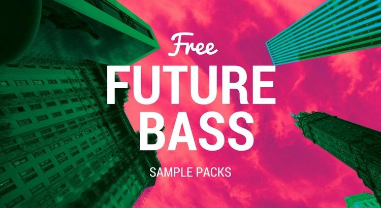 Future Bass Free Samples packs