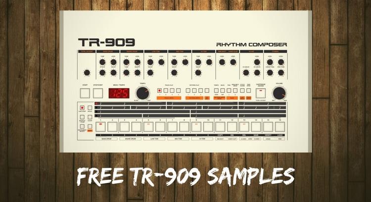 Download TR 909 Roland Wav Samples