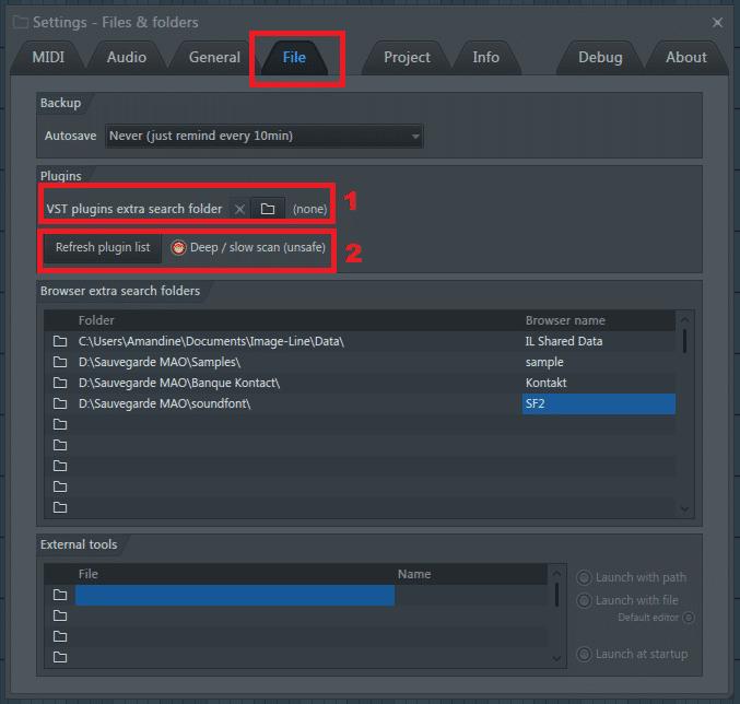 VST folder of your plugins FL Studio