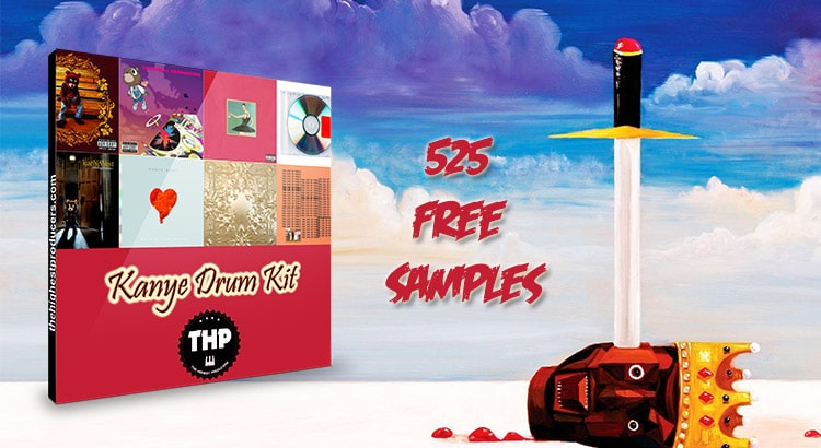 Kanye West Free Samples Ultimate Drum Kit
