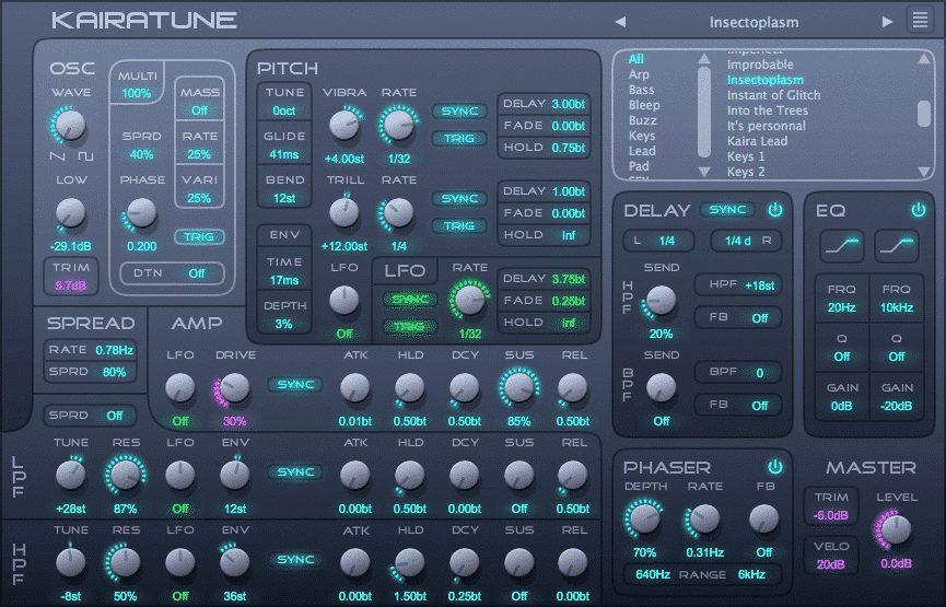Electronic Free Synth Kairatune