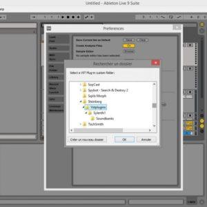 Find VST folder on Ableton Live 9