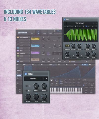 The Owl of Athena Includes wavetables and noises for Serum