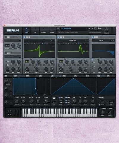 Example of a lead sound in Serum Future Bass Kit