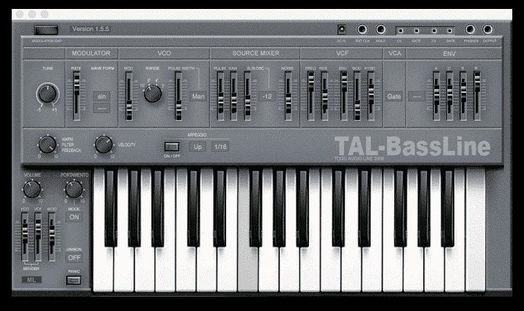 TAL Bassline |