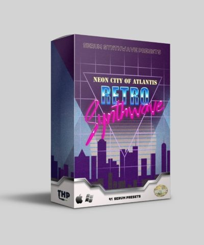 Neon City of Atlantis Synthwave Serum Presets