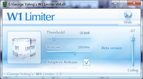 W1 Limiter a free alternative to waves L1