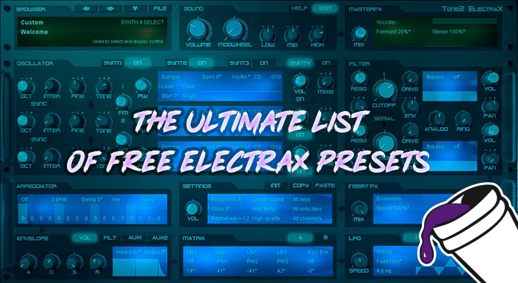 The Ultimate List of Free Electra X Presets