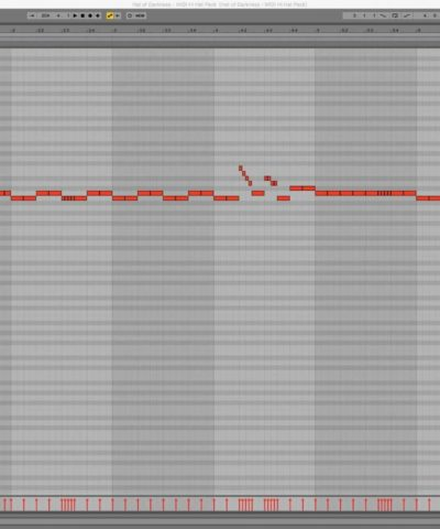 A midi pattern with Hat of Darkness