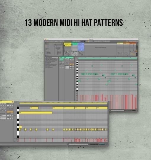 13 Modern Hi Hat Patterns