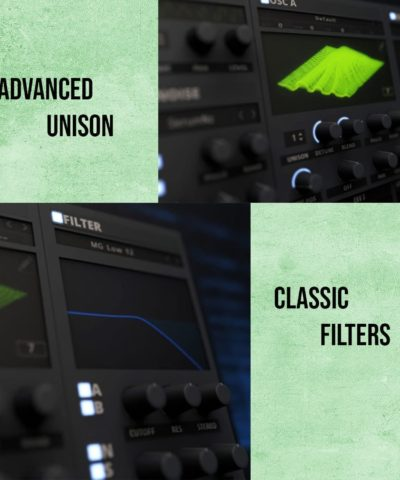 Advanced Unison and Classic Filters