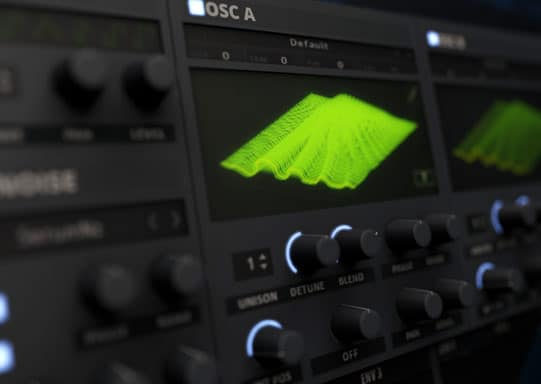Serum will let you stack a single oscillator to use up to 16 voices.