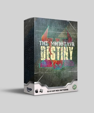The Minautor Destiny Free Hi Hat MIDI Rolls for Trap and Hip Hop