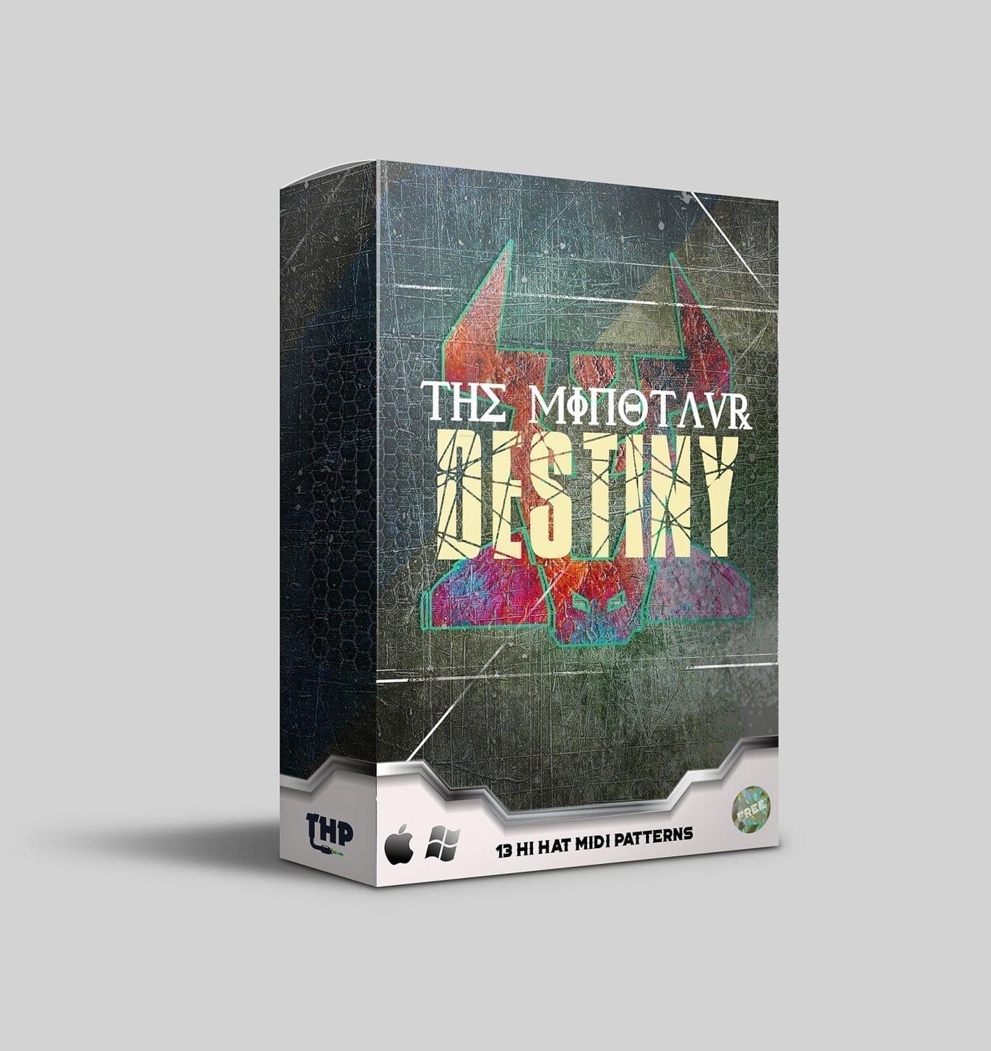 The Minautor Destiny Free Hi Hat MIDI Rolls for Trap and Hip Hop