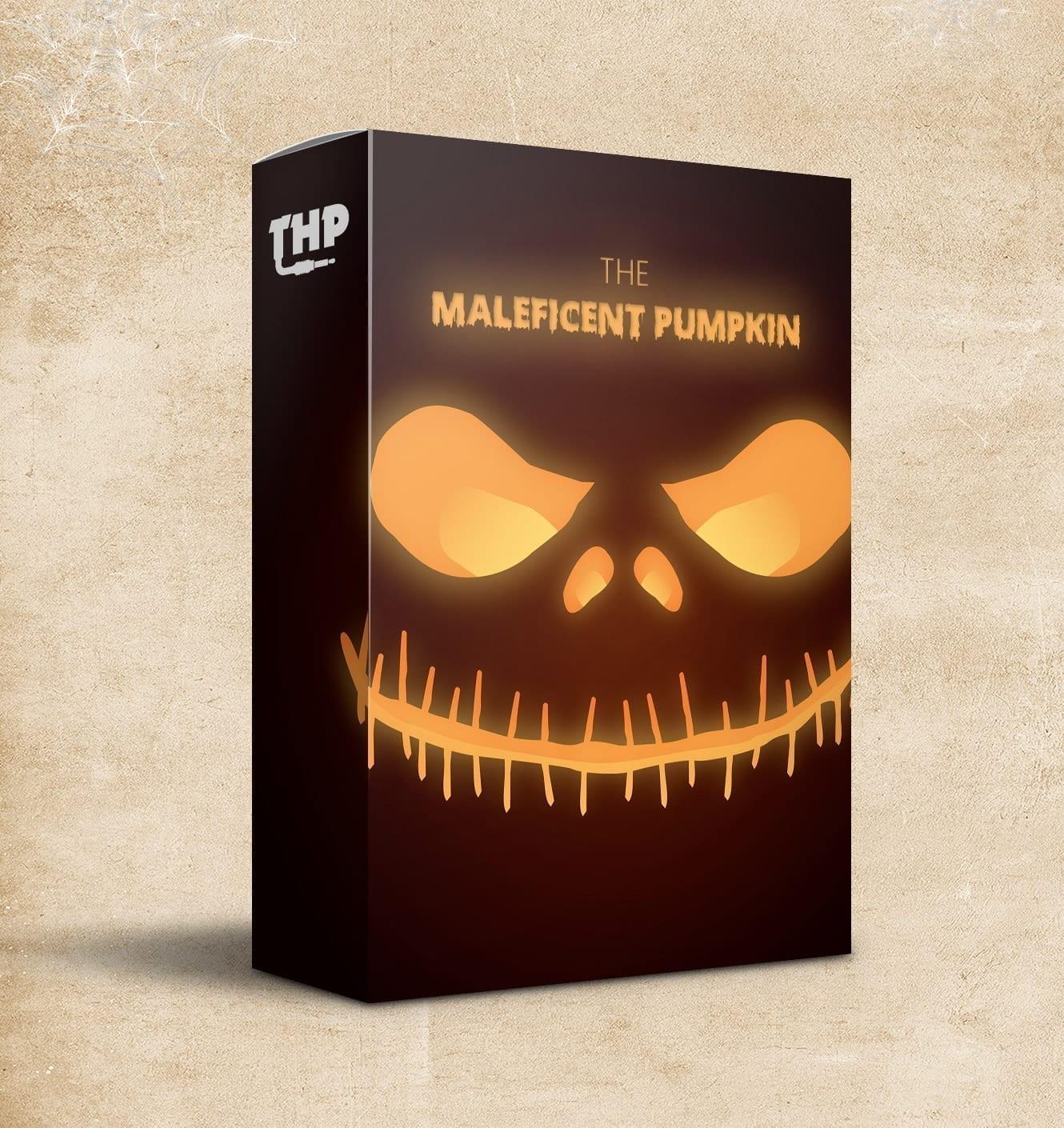 The Maleficent Pumpkin - 15 Haunting Trap Loops (Free MIDI Kit)