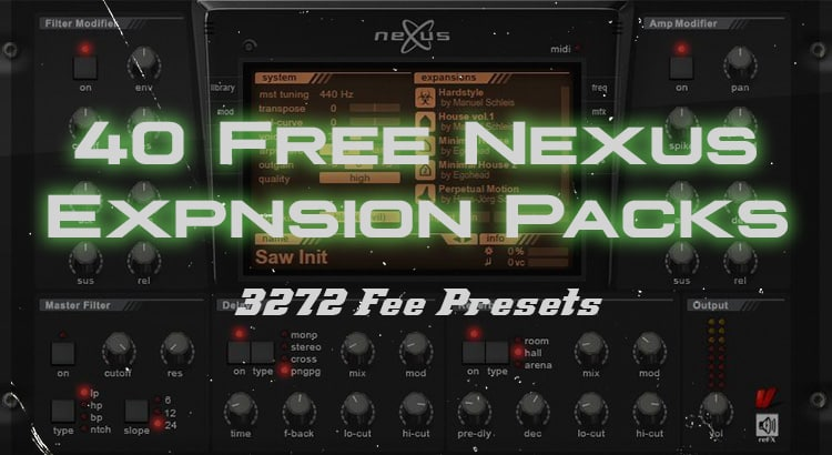 The Ultimate List Of Free Nexus Expansion Packs (3000+ Presets)