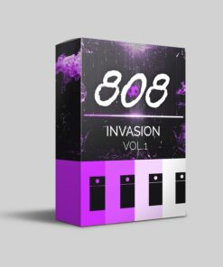 808 Invasion Vol 1 - 808 Wav Samples