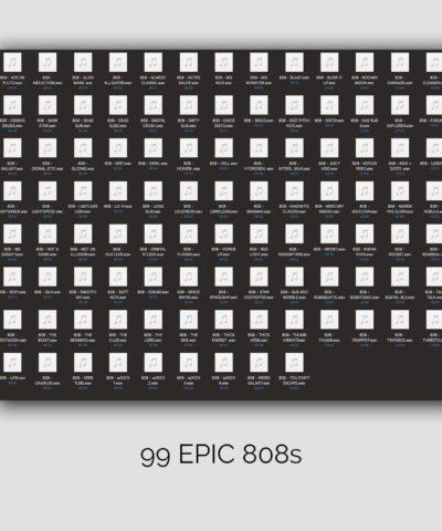 99 Epic 808 Sound - Drum Kit