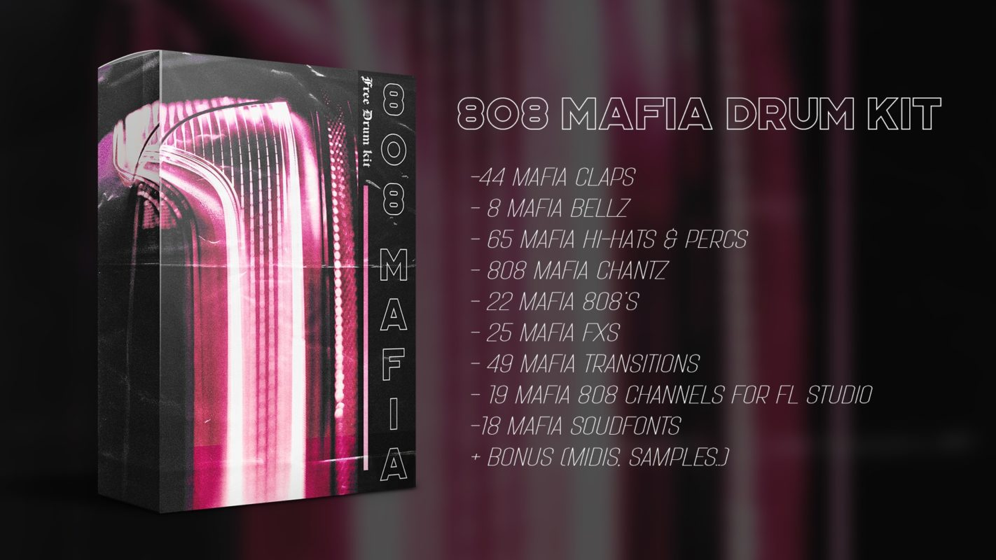 808 Mafia Free Drum Kit