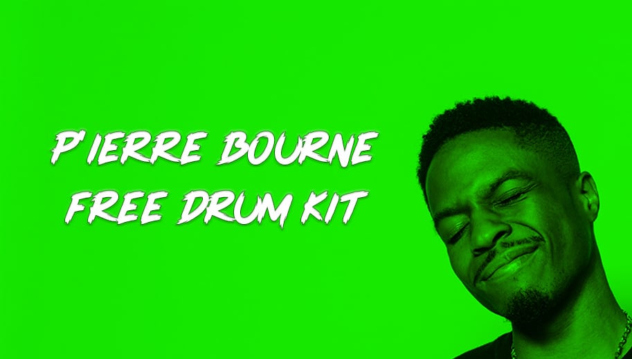 Pierre Bourne Free Drum Kit