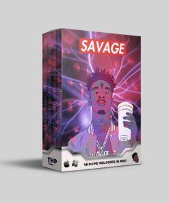 Download Midi Kit Savage - 45 Dope Trap Melodies