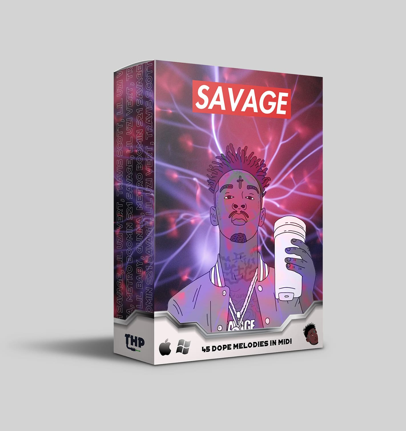 Download Midi Kit Savage - 45 Dope Trap Melodies