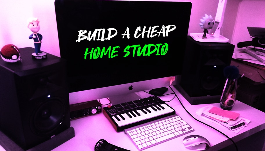 Learn how to build an audio home studio for cheap