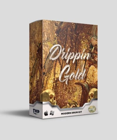 Drippin' Gold Drum Kit