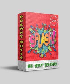 Splash Hi-Hat MIDI Kit by Drawny Music