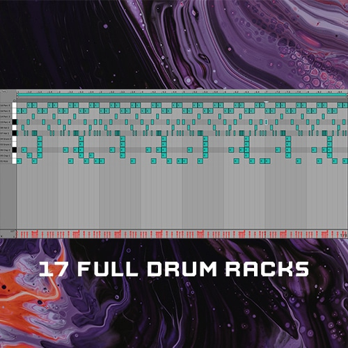 17 Full Drum Racks