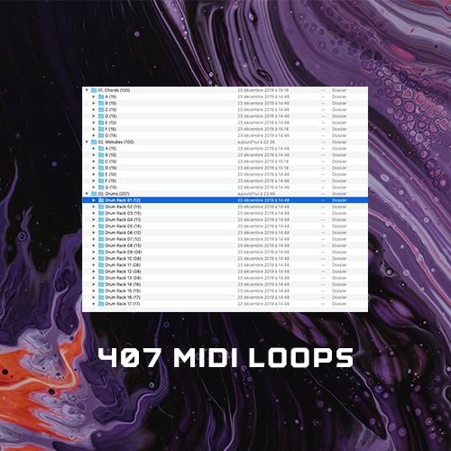 407 Midi Loops