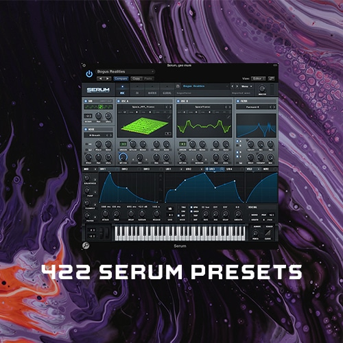 422 Serum Presets included
