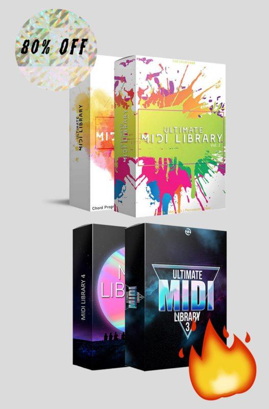 BEST MIDI Bundle with 4 MIDI Libraries