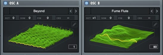 Custom wavetable including in Melting Trap for Serum