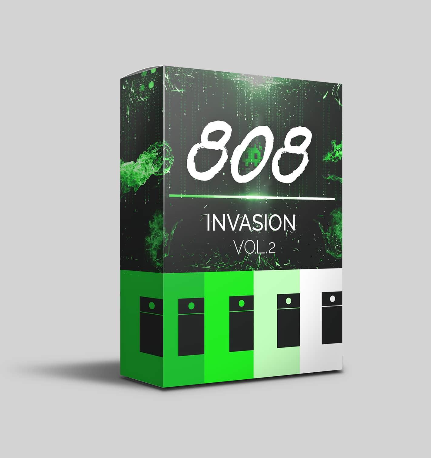 808 Invasion Vol.2 - 808 samples and MIDIs