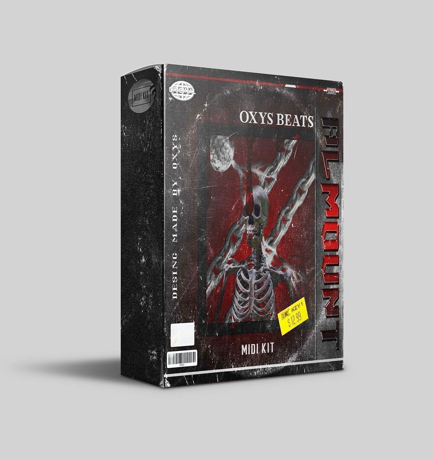 OX - Almount Modern Hip-Hop trap MIDI Kit