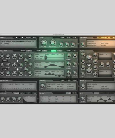 Custom Presets - Sound Designed by Krypto Knight