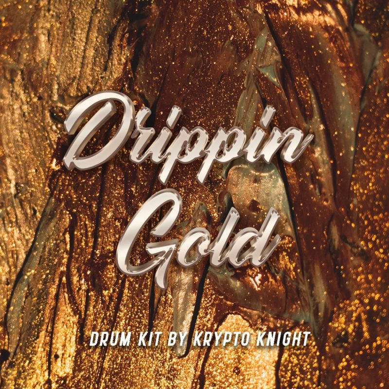 Featuring Drippin Gold Drum Kit