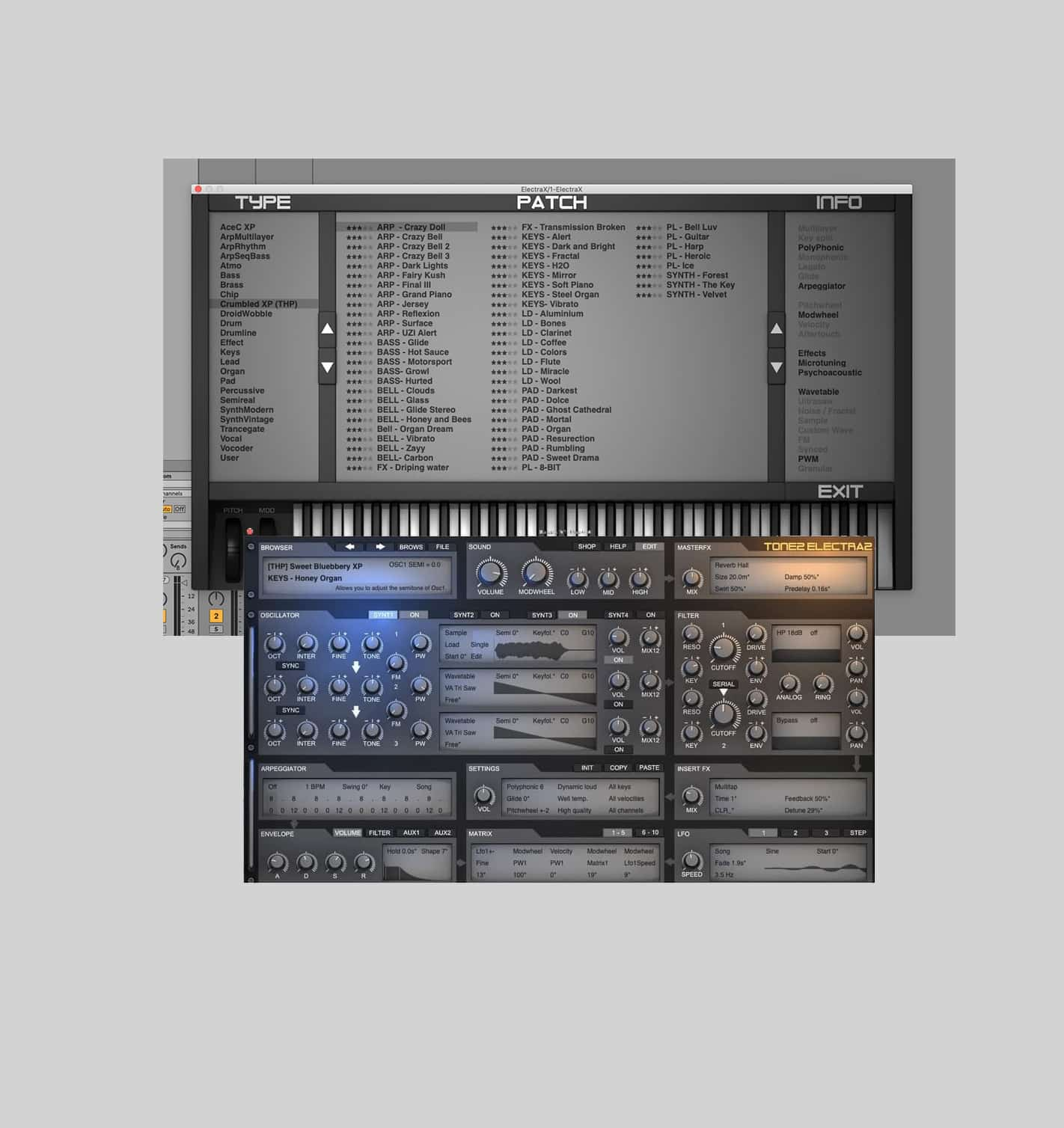 SOme ElectraX Presets for Music Producers