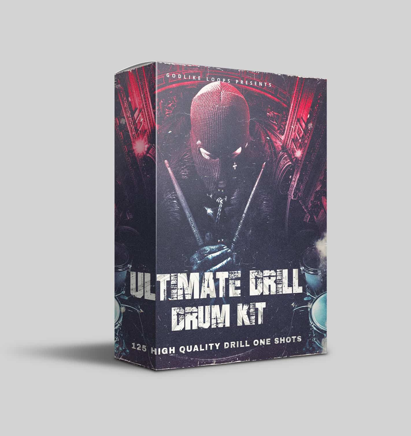 Ultimate Drill Drum Kit by Godlike Loops